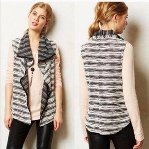 Anthropologie Dolan T-Shirt Drape Knit Vest Medium